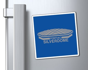 Magnets - Pontiac Silverdome - 3 Sizes Available