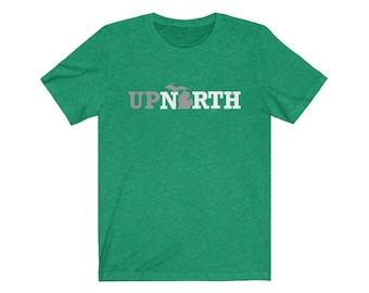 UpNorth Tee - Up North Michigan - Michigan T-Shirt - Free Shipping