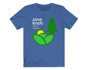UpNorth Tee - Pine Knob Music Theatre Shirt - Free Shipping - Clarkston Michigan - Retro Michigan Shirt