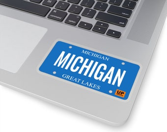 Stickers - MICHIGAN (License Plate)