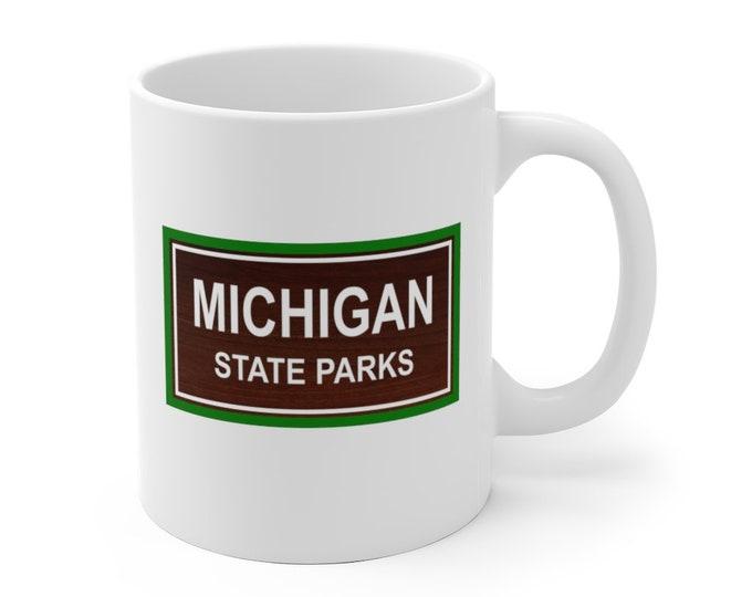 Ceramic Mug - Michigan State Parks - 2 Sizes