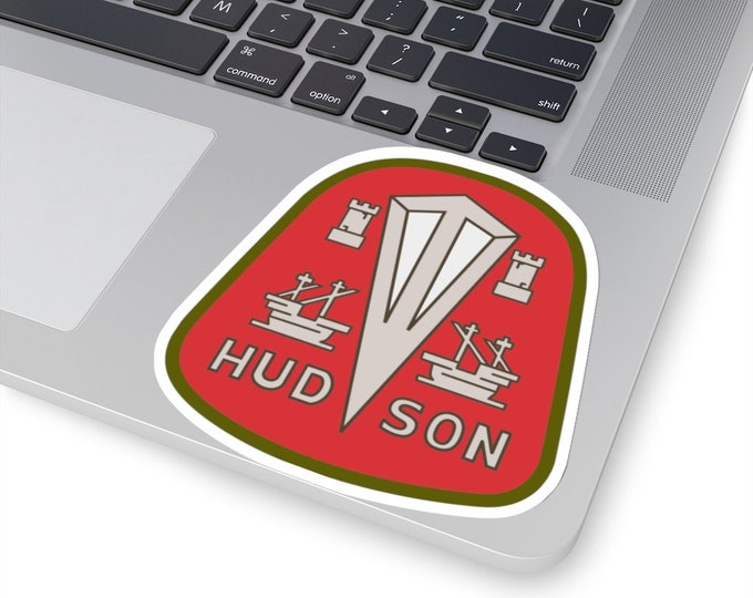 UpNorth Stickers - Hudson Car Company (Vintage Michigan Collection)