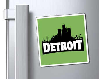 Magnets - Detroit-nite (Gamer Edition) 3 Sizes Available
