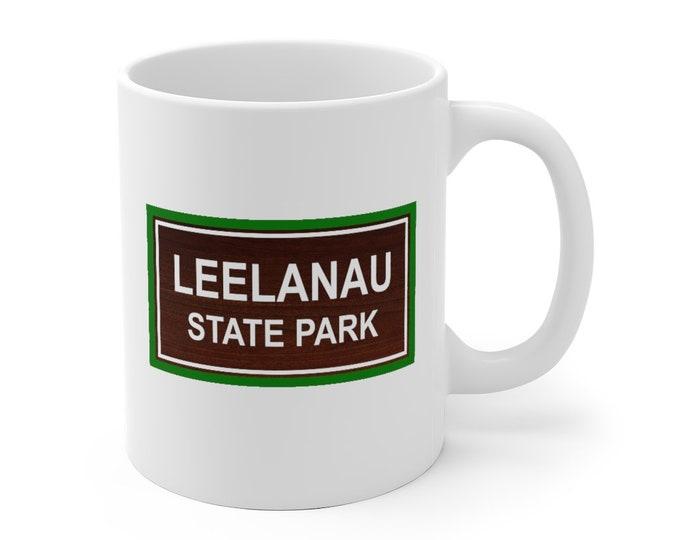 Ceramic Mug - LEELANAU - Michigan State Parks
