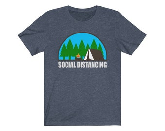 UpNorth Tee - Social Distancing - Tent Camping