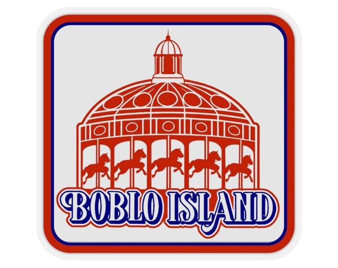 Boblo Island (Vintage Michigan Collection) UpNorth Stickers