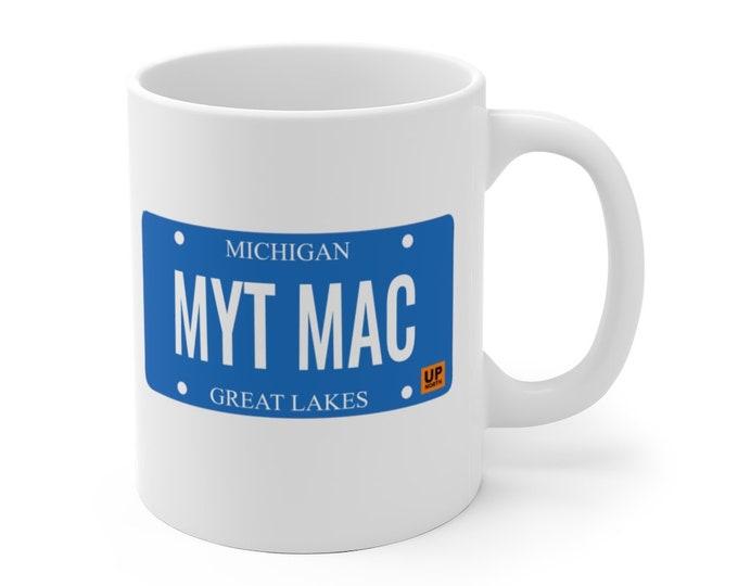 Ceramic Mug - MYT MAC (License Plate) - 11 oz or 15 oz