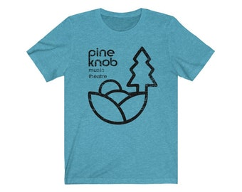 UpNorth Tee - Pine Knob Music Theatre Shirt - Michigan (Vintage Print) - Free Shipping
