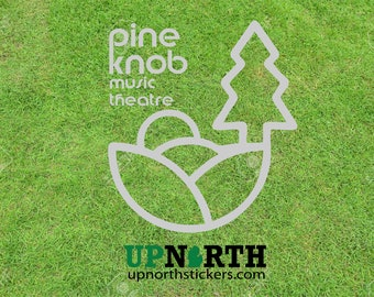 Pine Knob Music Theatre - Custom Vinyl Vehicle or Wall Decal - Multiple Sizes and Colors - Personalize for Free - Free Shipping