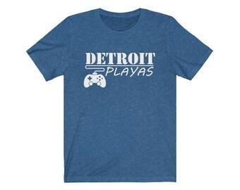 UpNorth Tee - Detroit Playas (GAMER EDITION) - Detroit Video Gamer