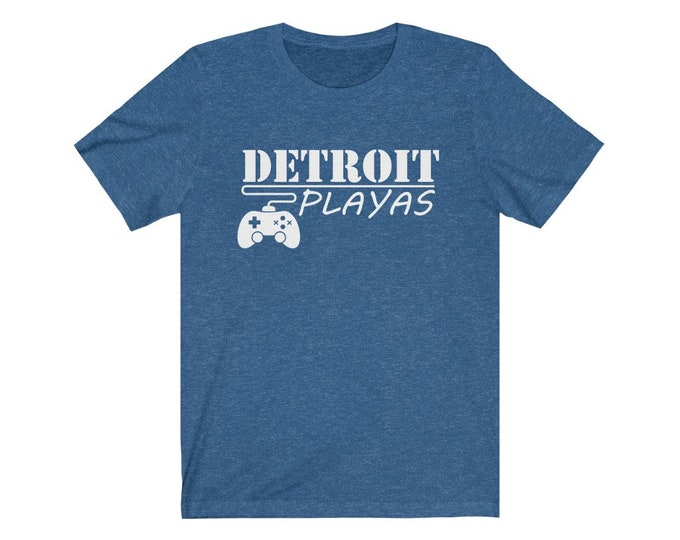 UpNorth Tee - Detroit Playas (GAMER EDITION) - Detroit Video Gamer