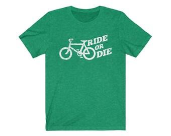 UpNorth Tee - Bicycle - Ride or Die (Vintage Print)