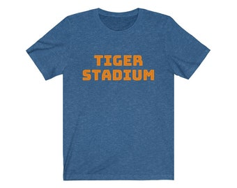 UpNorth Tee - Tiger Stadium (Michigan Vintage Collection) - Detroit Michigan T-Shirt