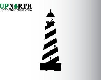 Light House - Vinyl Decal - Michigan Landmarks - Custom Vinyl Decal - Multiple Sizes and Colors - Free Shipping