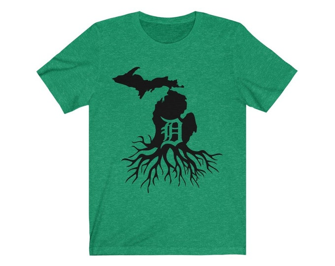 UpNorth Tee - Detroit Michigan Roots - Free Shipping
