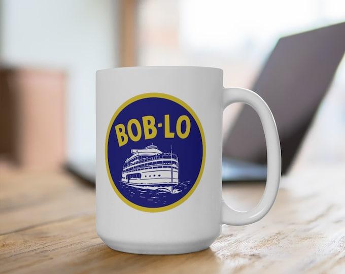 Ceramic Mug - Bob-Lo Boat - 11 or 15 oz. - Coffee Cup