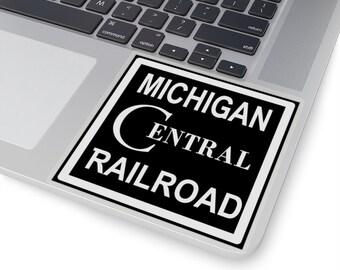 UpNorth Stickers - Michigan Central Railroad (Vintage Michigan Collection)