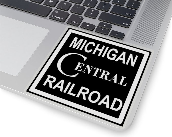 UpNorth Stickers - Michigan Central Railroad (Vintage Michigan Collection)