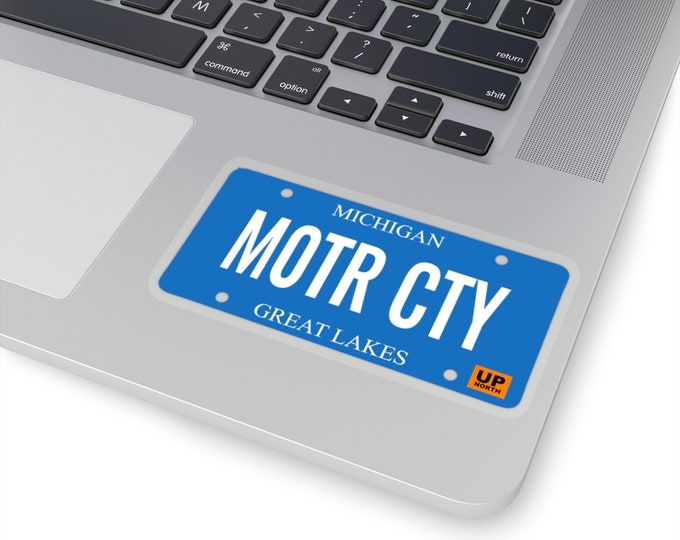 Stickers - MOTR CTY (License Plate)
