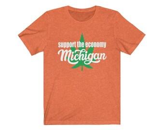 UpNorth Tee - Support the Economy - Michigan Marijuana