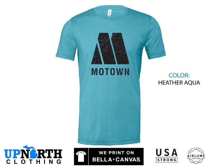 UpNorth Tee - MOTOWN (Motown Records Detroit) - Detrot Motown Shirt - Free Shipping
