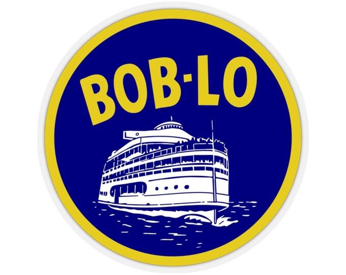 UpNorth Stickers - Boblo Boat (Vintage Michigan Collection)