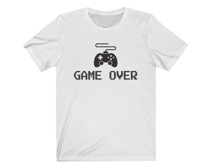UpNorth Tee - Game Over (Gamer Edition) - Video Game Controller