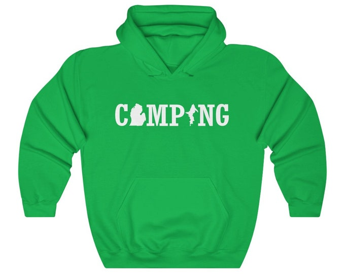 UpNorth Hoodie - Michigan Camping - Michigan Hooded Sweatshirt
