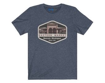 UpNorth Tee - Eastern Market - Detroit Michigan (Vintage Print)