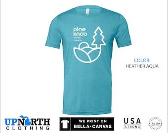 UpNorth Tee - Pine Knob Music Theatre  (Standard Print) - Clarkston Michigan - Michigan T-Shirt