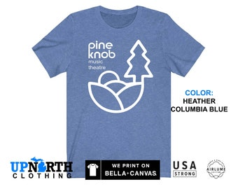 UpNorth Tee - Pine Knob Music Theatre T-Shirt - Clarkston, MIchigan - Free Shipping