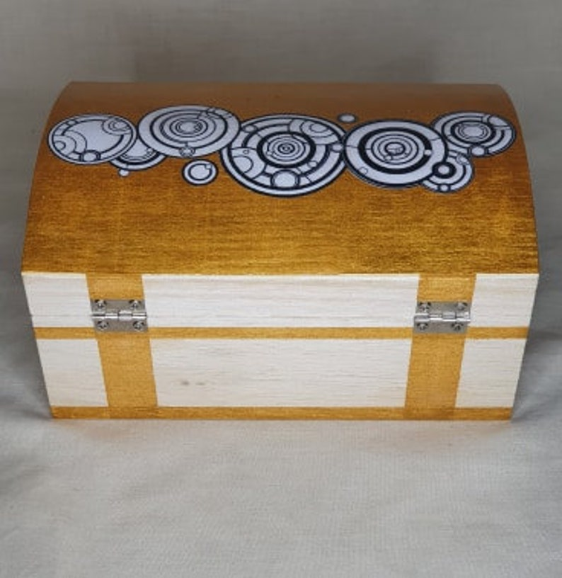 The Doctors Name Wooden Trinket Box