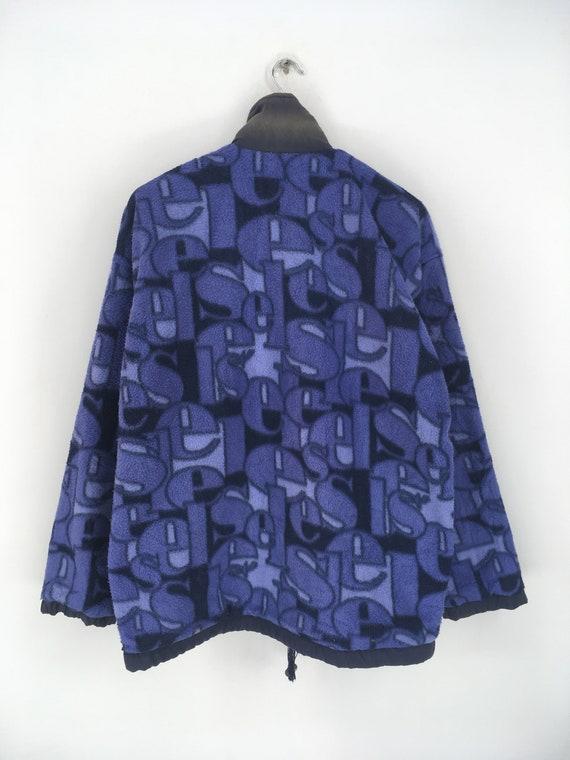 Vintage ELLESSE Fleece Jacket Xlarge 1990's Elles… - image 4