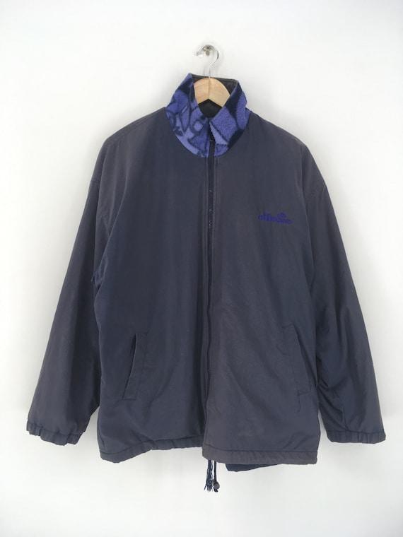 Vintage ELLESSE Fleece Jacket Xlarge 1990's Elles… - image 6