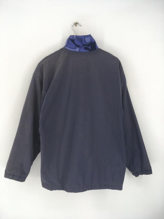 Vintage ELLESSE Fleece Jacket Xlarge 1990's Elles… - image 9