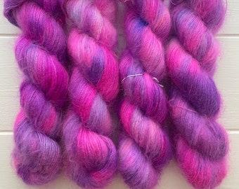 Purple Carnival Mohair Locks
