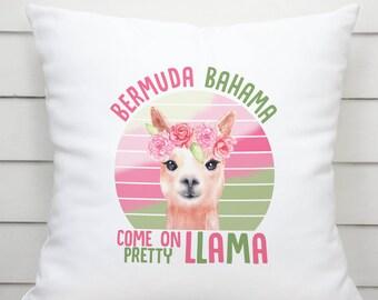 Llama pillowcase   Etsy