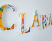 Personalised Wall Sign, Name, Art, Wall decor, Bedroom, Bathroom, Fluid art, Pour art, Colourful