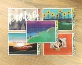 Set of 5 Recyled Postcards | Christian Postcards, Eco-friendly, Zero plastic, Keep Going, Cast all your anxiety, New every morning, Praise