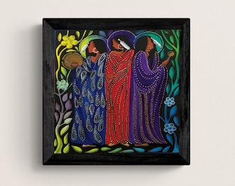 The Healers by Betty Albert, Native Art, Indigenous Art