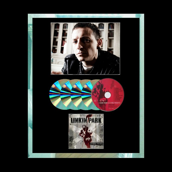 Linkin Park Hybrid Theory Cd Multi Award Photo Pic Christmas Gift