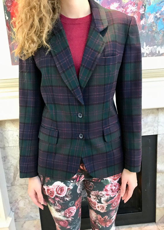 Vintage Women's Wool Blazer // JH Collectibles Wom