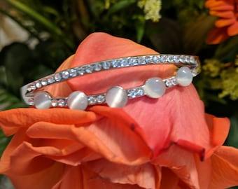 Silver Bangle bracelet