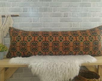 Decorative bolster Pillow Cover Mint