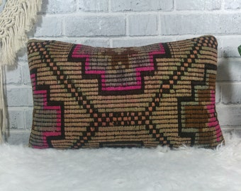 Turkish Kilim Pillow Cover A 871