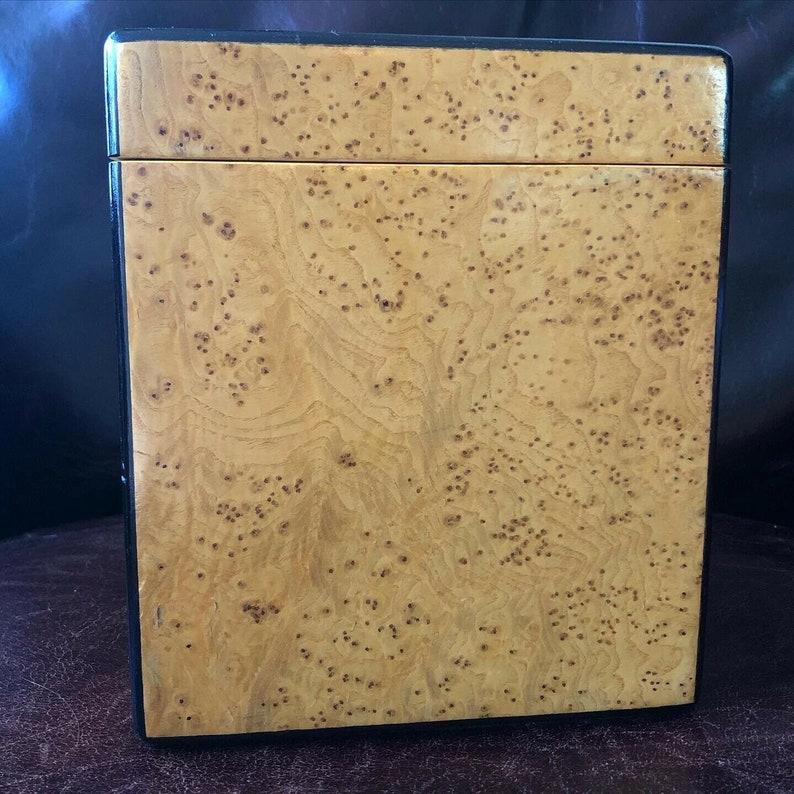 Vintage Birdseye Maple Hinged Box