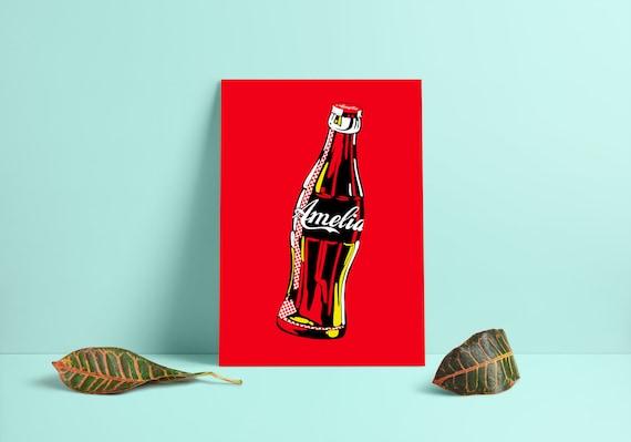 A4 sizes A2 A1 A3 Coca Cola Coke Vintage Art Poster