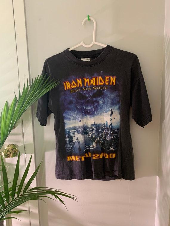 Vintage 2000s Iron Maiden tee M