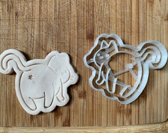 Bum Booty Butt Cookie Pastry Biscuit Cutter Icing Fondant Baking Bake Kitchen