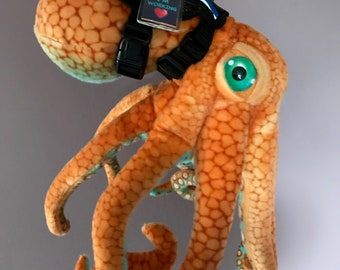 Emotional Support Octopus Stuffed Animal Plushie Toy